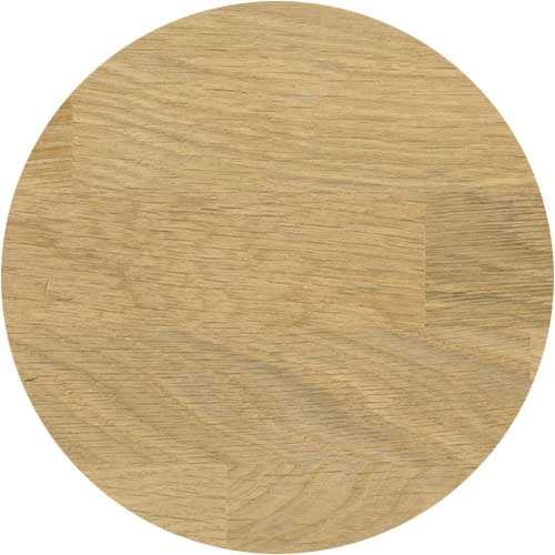 Runde bordplader - Køb massive runde bordplader hos MIFApladen.dk